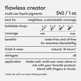Flawless Creator Foundation Drops