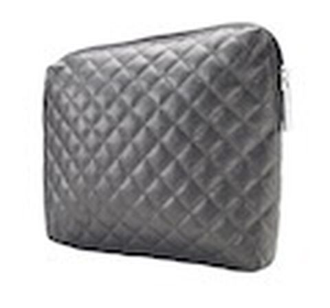 Dermablend Silver Quilted Bag