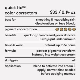 Quick Fix™ Color-Correcting Powder Pigments