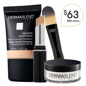 Natural Foundation Routine Face Makeup Dermablend