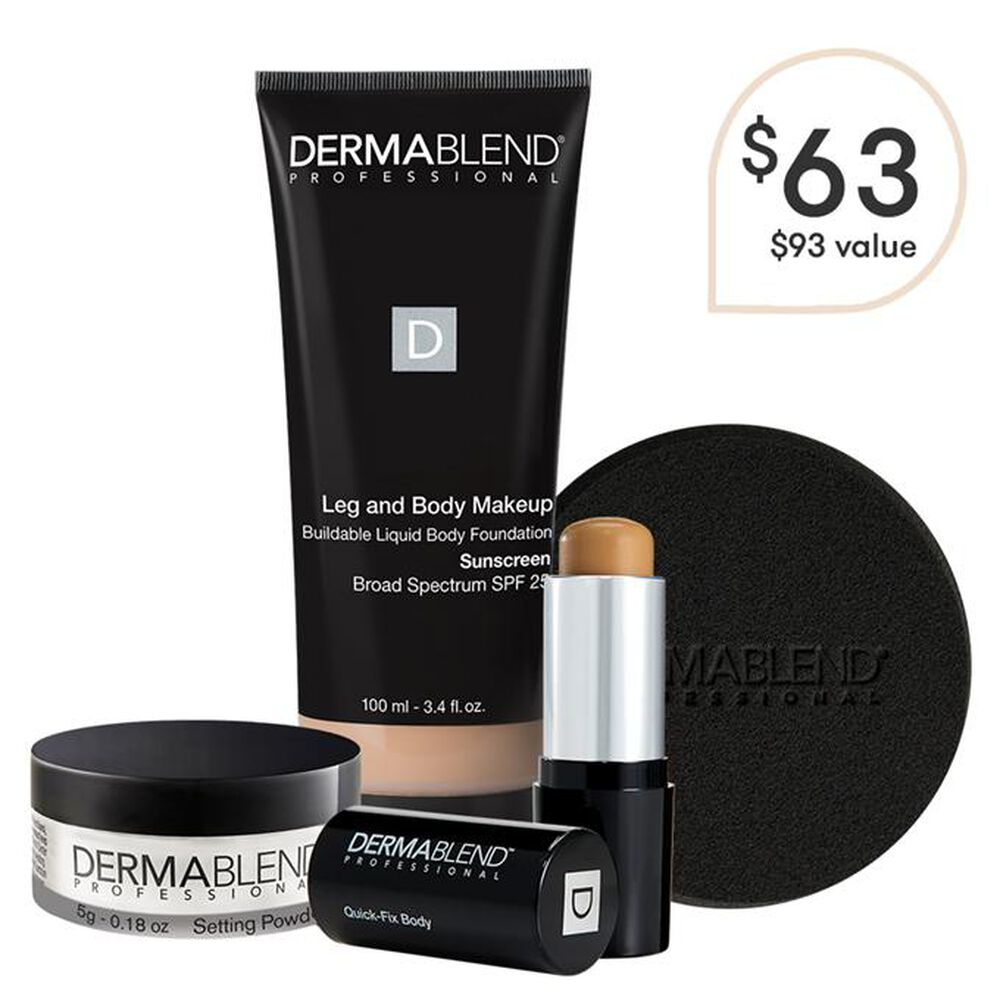 Tattoo Cover Up Set Body Makeup Dermablend Professional