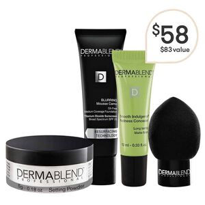 Acne Coverage Set Oil Free Foundation Dermablend