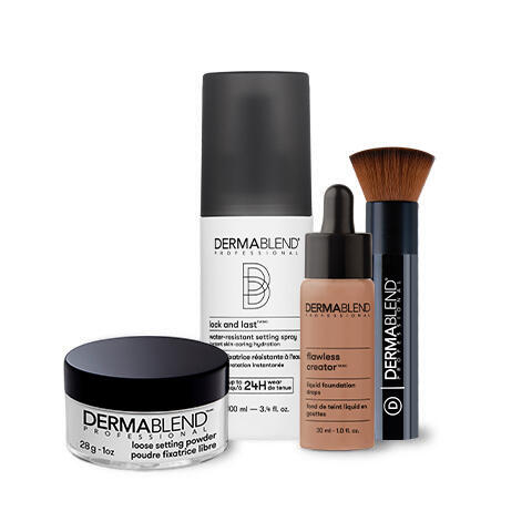 Transfer-Resistant-Foundation-Routine-Dermablend