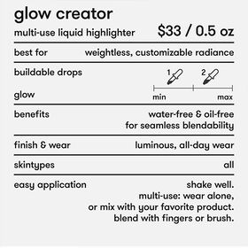 Glow Creator Highlighter Makeup - Peach