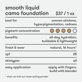 Smooth Liquid Camo Foundation